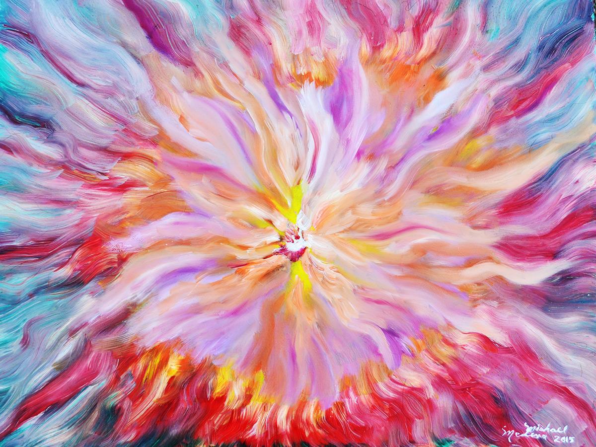 Oil on canvas Creation