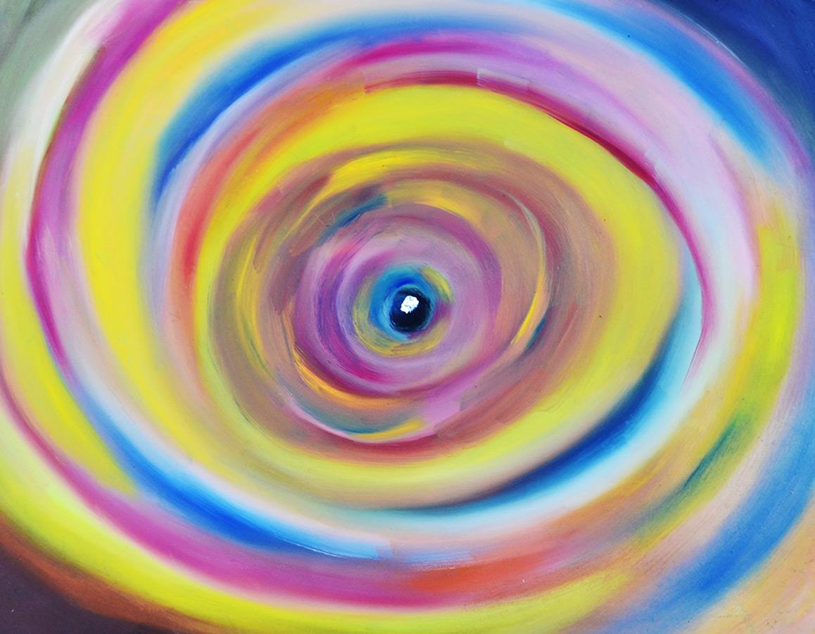 oil on canvas Event Horizon Big Bang Collection